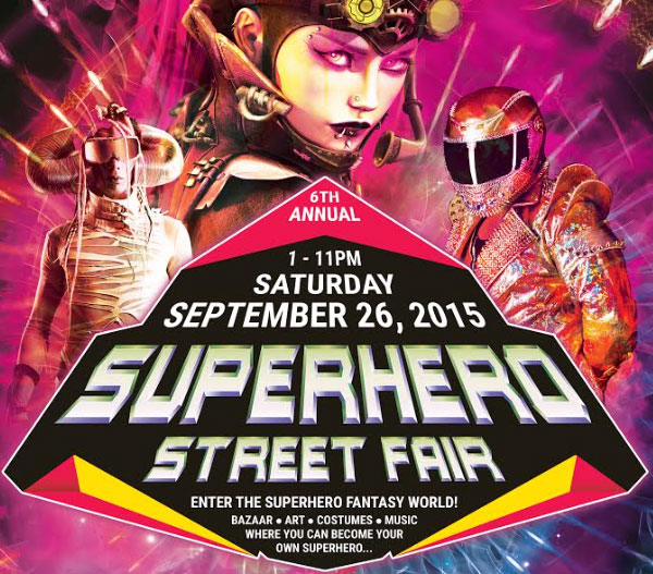 Superhero Stret Fair