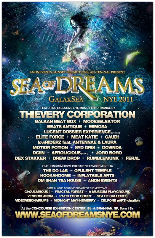 Sea of Dreams NYE 2011